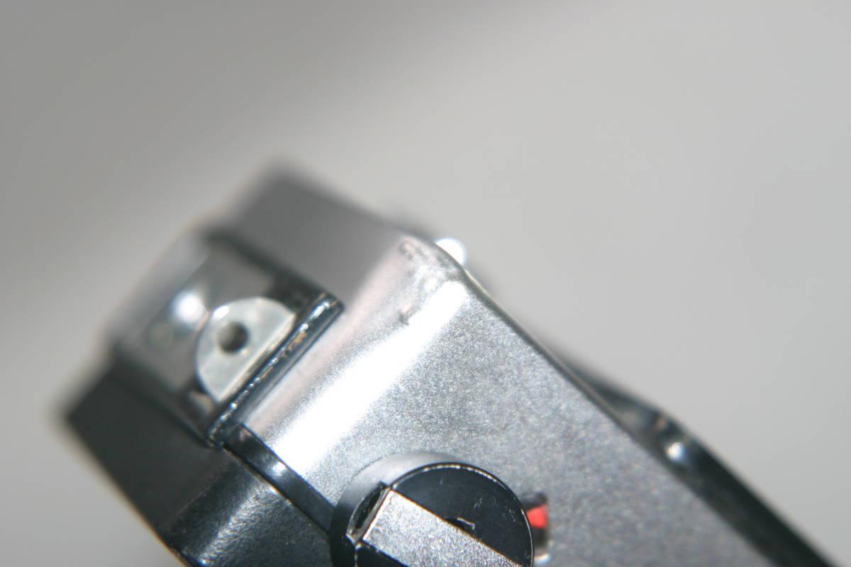整備済 リコーオートハーフ S 黒縞模様 モルト張替済 キャップ・ケース・ストラップ付_画像10