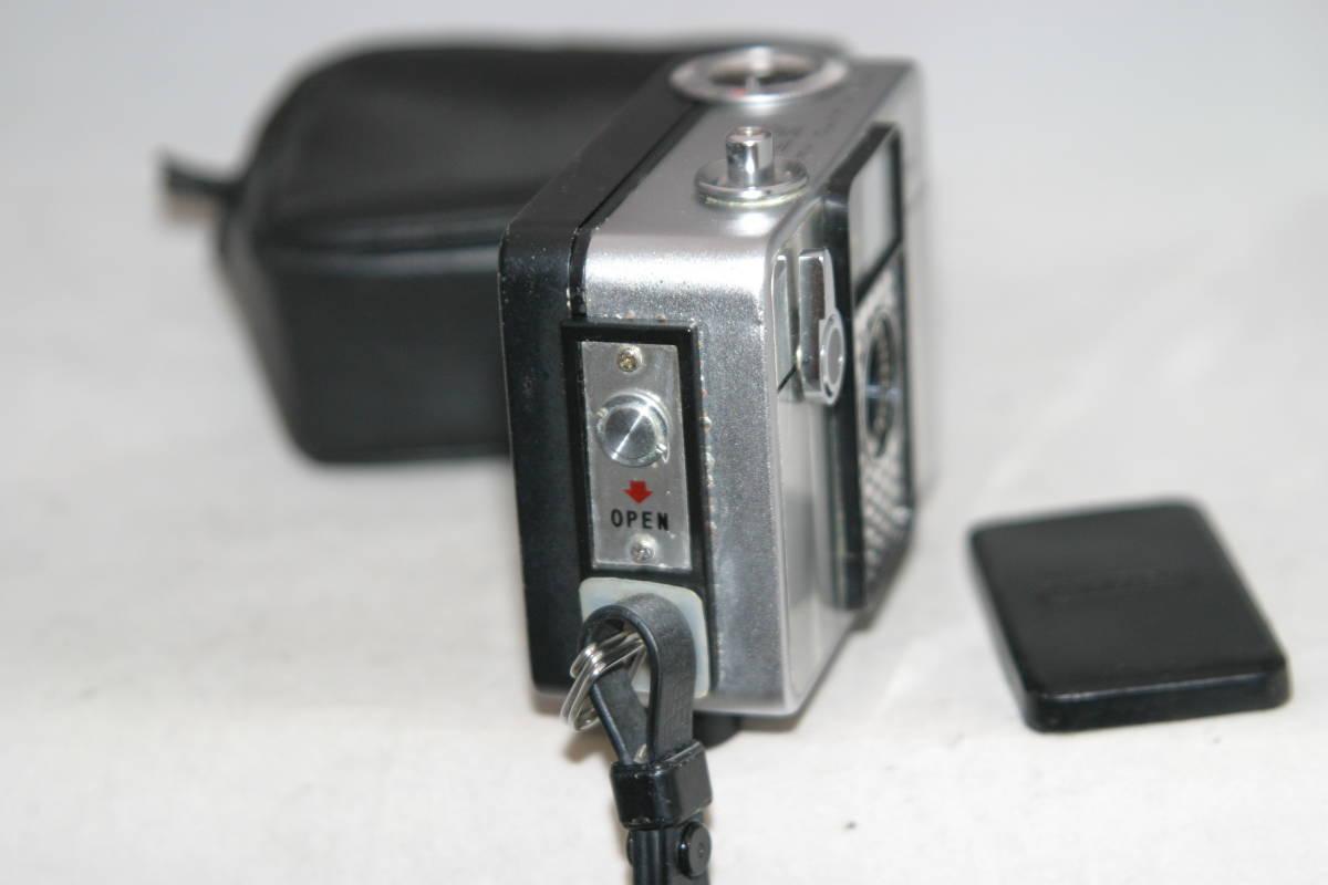 整備済 リコーオートハーフ SE 鏡面模様 モルト張替済 レンズキャップ・ケース・ストラップ付_画像7