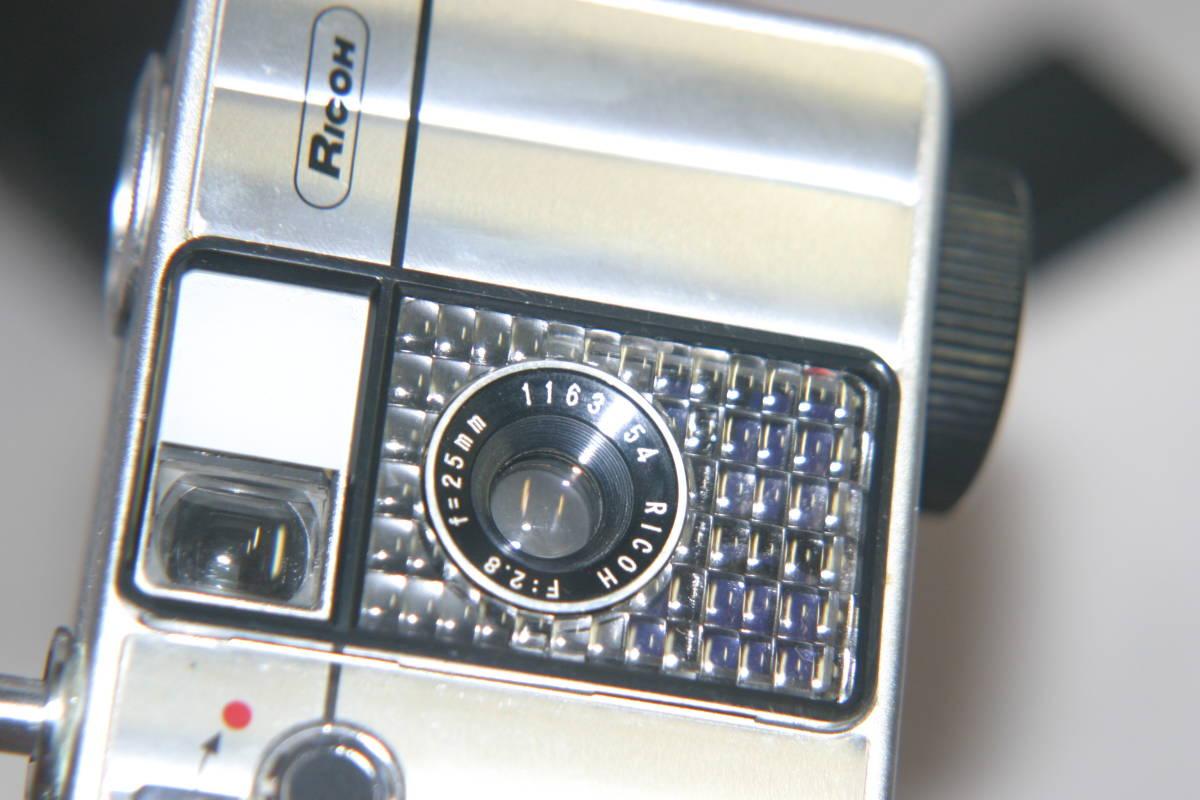 整備済 リコーオートハーフ SE 鏡面模様 モルト張替済 レンズキャップ・ケース・ストラップ付_画像8
