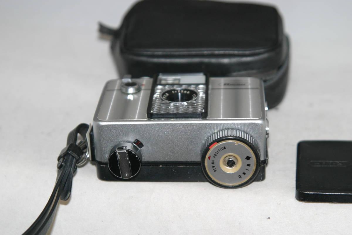 整備済 リコーオートハーフ SE 鏡面模様 モルト張替済 レンズキャップ・ケース・ストラップ付_画像5