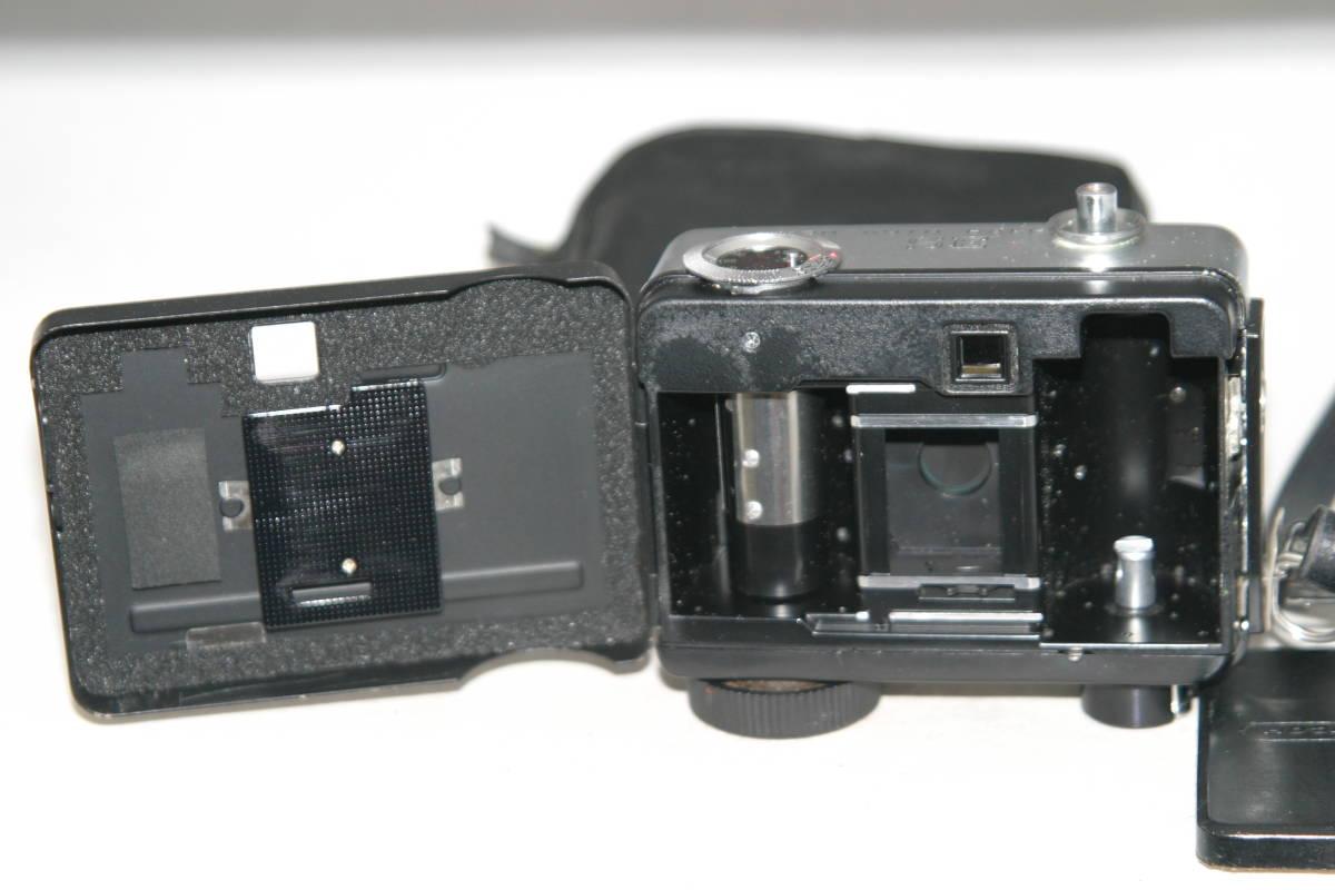 整備済 リコーオートハーフ SE 鏡面模様 モルト張替済 レンズキャップ・ケース・ストラップ付_画像4