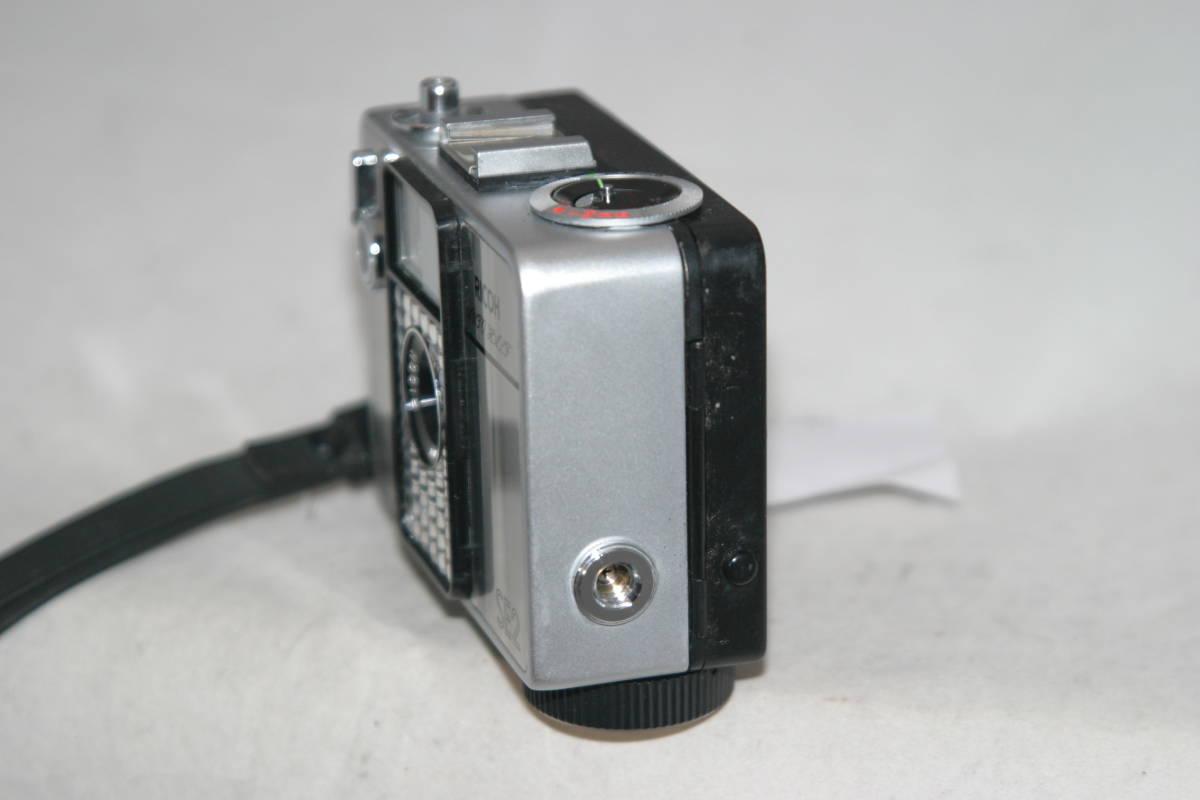 整備済 リコーオートハーフ SE2 鏡面模様 モルト張替済 ストラップ付_画像5
