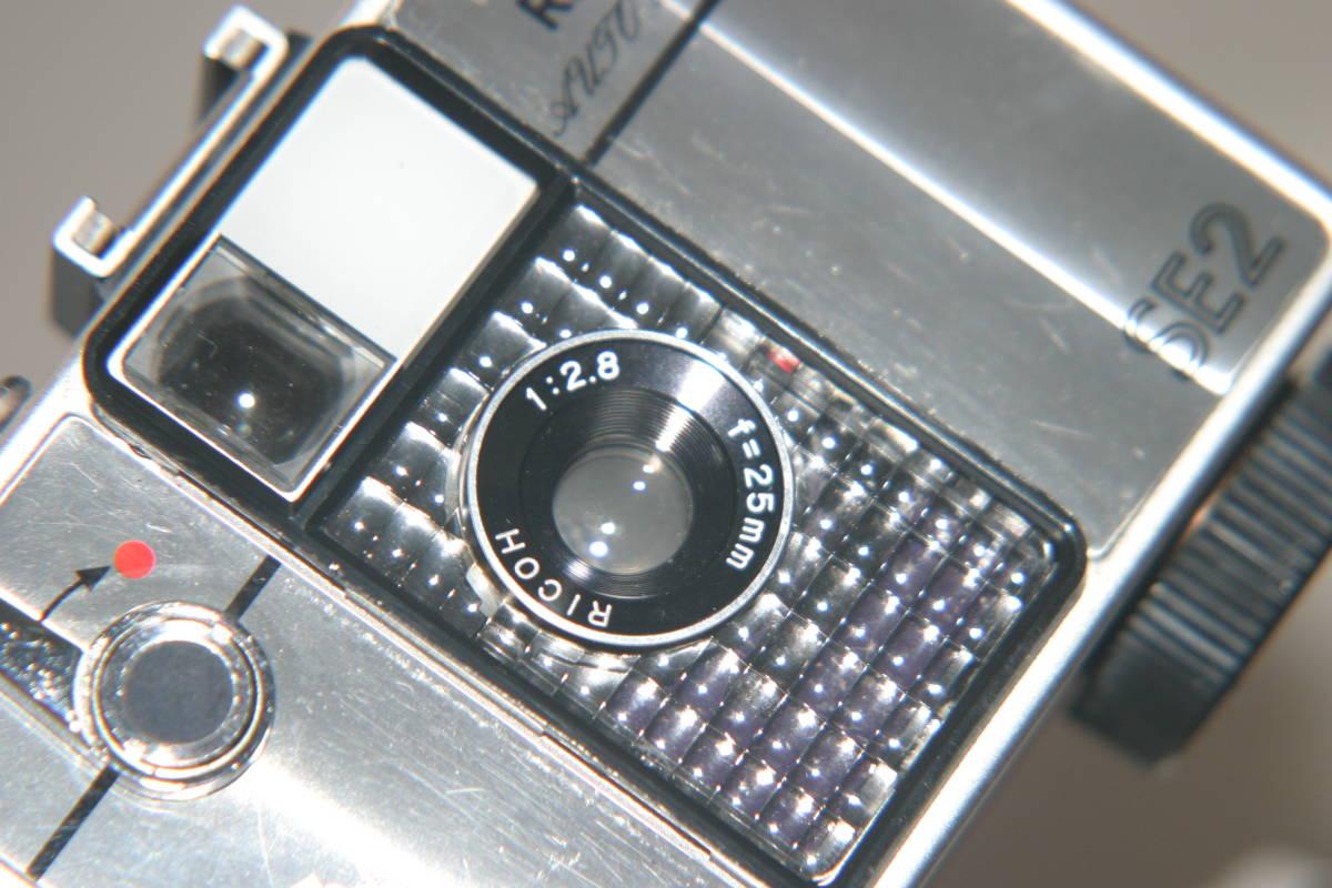 整備済 リコーオートハーフ SE2 鏡面模様 モルト張替済 ストラップ付_画像7