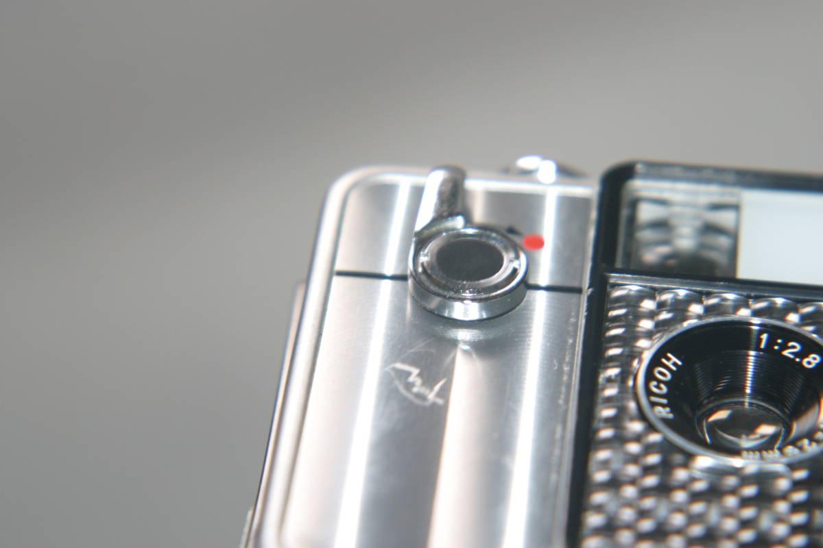 整備済 リコーオートハーフ SE2 鏡面模様 モルト張替済 ストラップ付_画像8
