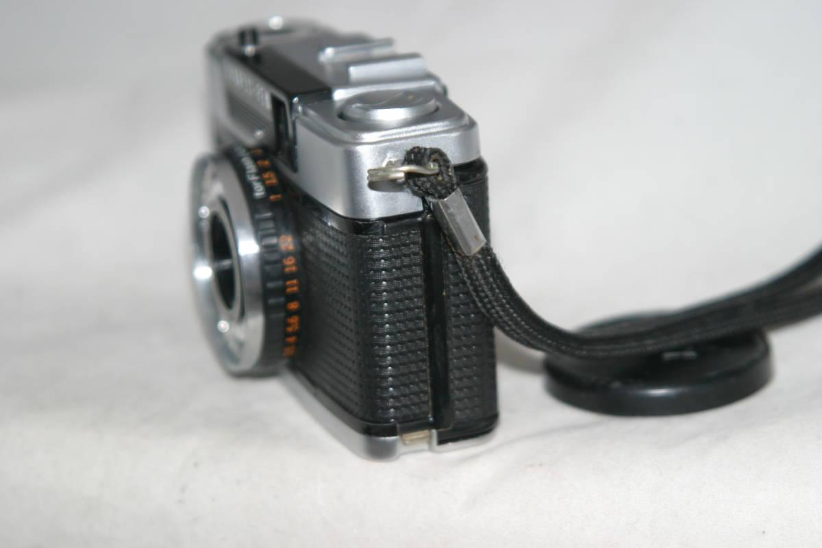 良品 整備済 オリンパスペン EE-3 モルト張替済 レンズキャップ・ストラップ付き_画像6