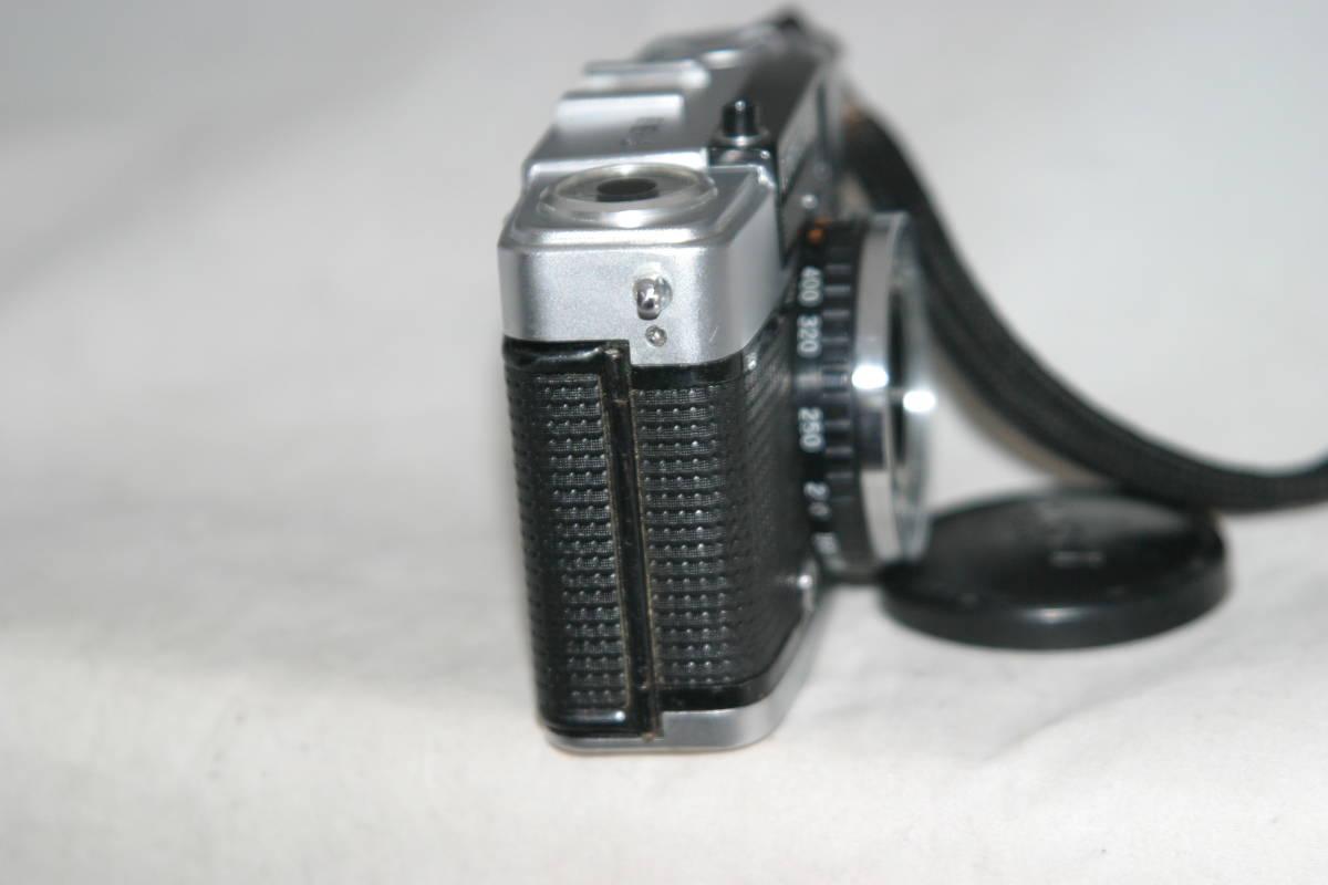 良品 整備済 オリンパスペン EE-3 モルト張替済 レンズキャップ・ストラップ付き_画像7