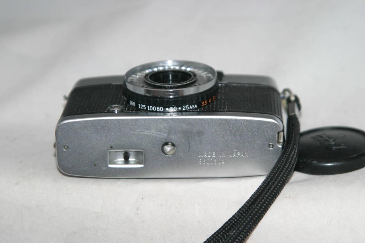 良品 整備済 オリンパスペン EE-3 モルト張替済 レンズキャップ・ストラップ付き_画像5