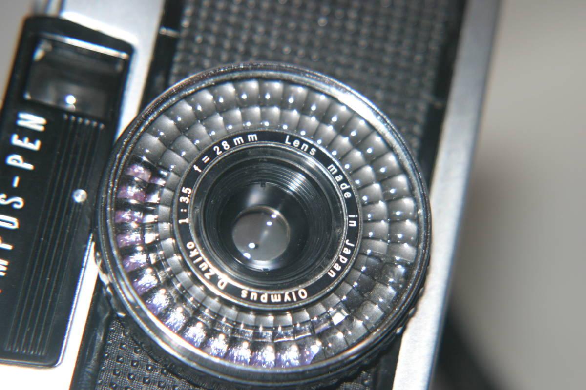 良品 整備済 オリンパスペン EE-3 モルト張替済 レンズキャップ・ストラップ付き_画像8