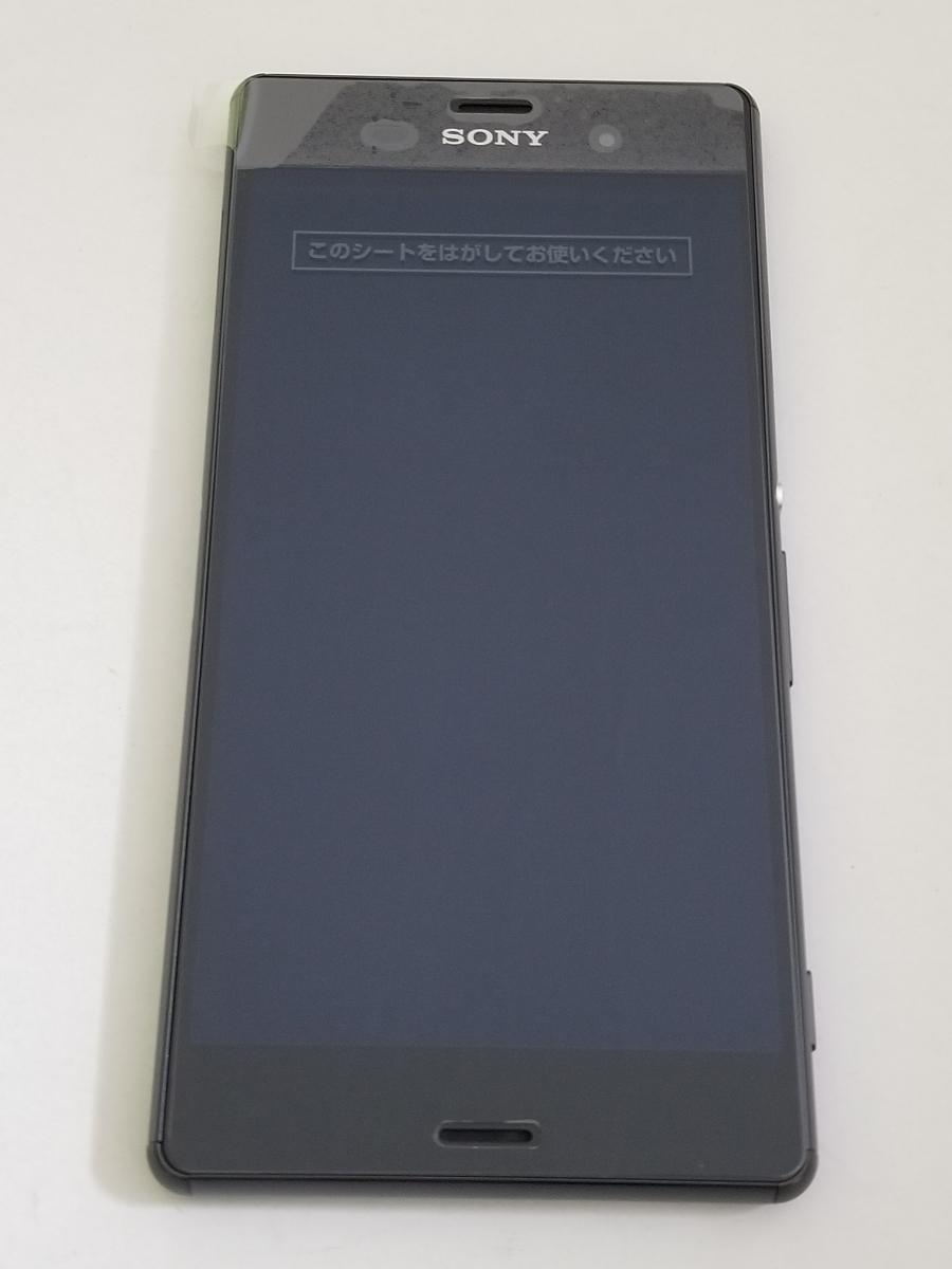 ドコモ XPERIA Z3 SO-01G ブラック 新品交換品 利用制限○ 本体のみ①