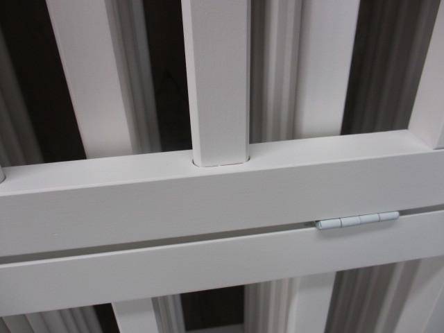 未使用 倉庫品 ハイタイプ ベビーサークル 木製 ジョイント式 高さ70cm 8枚セット 白 ホワイト ベビーフェンス(ペットサークル)_画像3