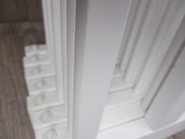未使用 倉庫品 ハイタイプ ベビーサークル 木製 ジョイント式 高さ70cm 8枚セット 白 ホワイト ベビーフェンス(ペットサークル)_画像6