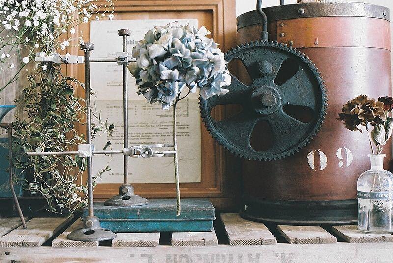 【古い鉄の歯車・大型 ビンテージ 古道具 オブジェ】アンティーク ブロカント 工業系 インダストリアル インテリア レトロ シャビー DIYに_画像3