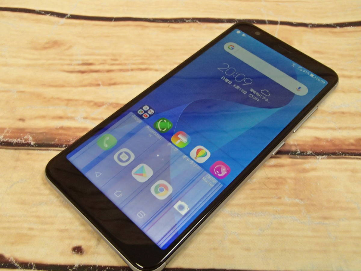 ■ASUS ZenFone Max Plus M1 SIMフリー ZB570TL-SL32S4 5.7型/32GB/ジャンク■_画像2