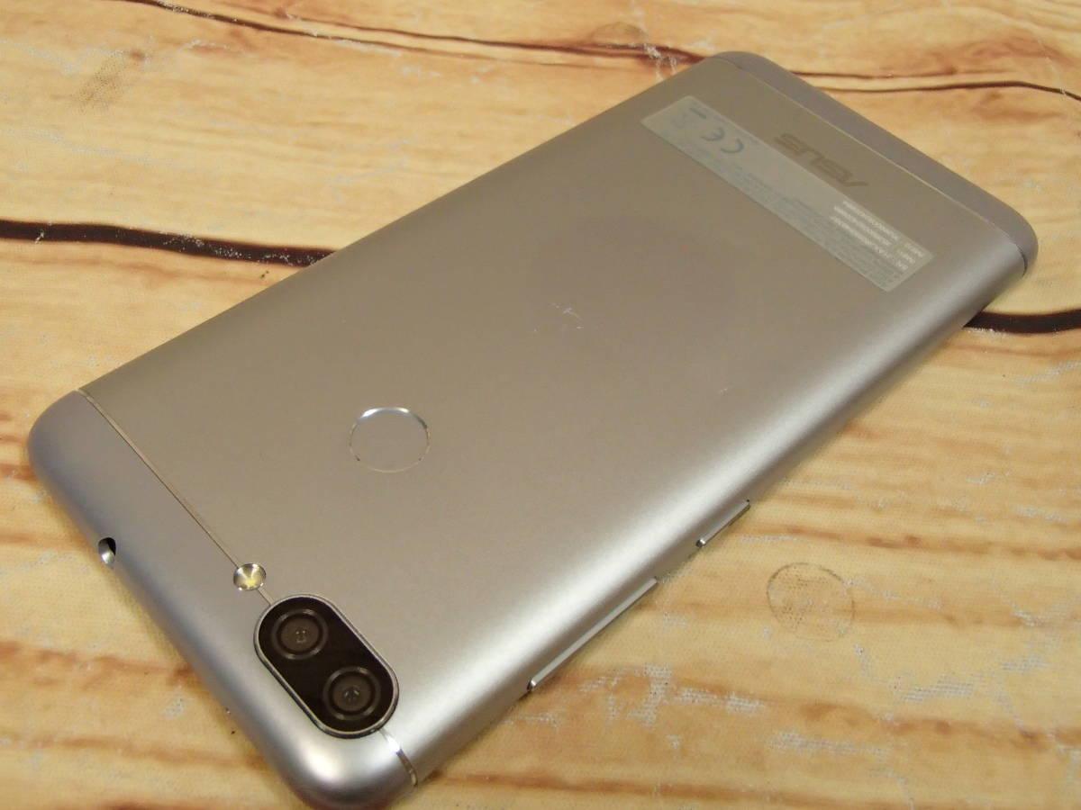 ■ASUS ZenFone Max Plus M1 SIMフリー ZB570TL-SL32S4 5.7型/32GB/ジャンク■_画像6