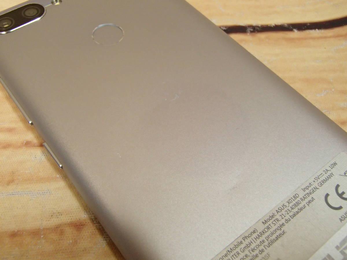 ■ASUS ZenFone Max Plus M1 SIMフリー ZB570TL-SL32S4 5.7型/32GB/ジャンク■_画像8