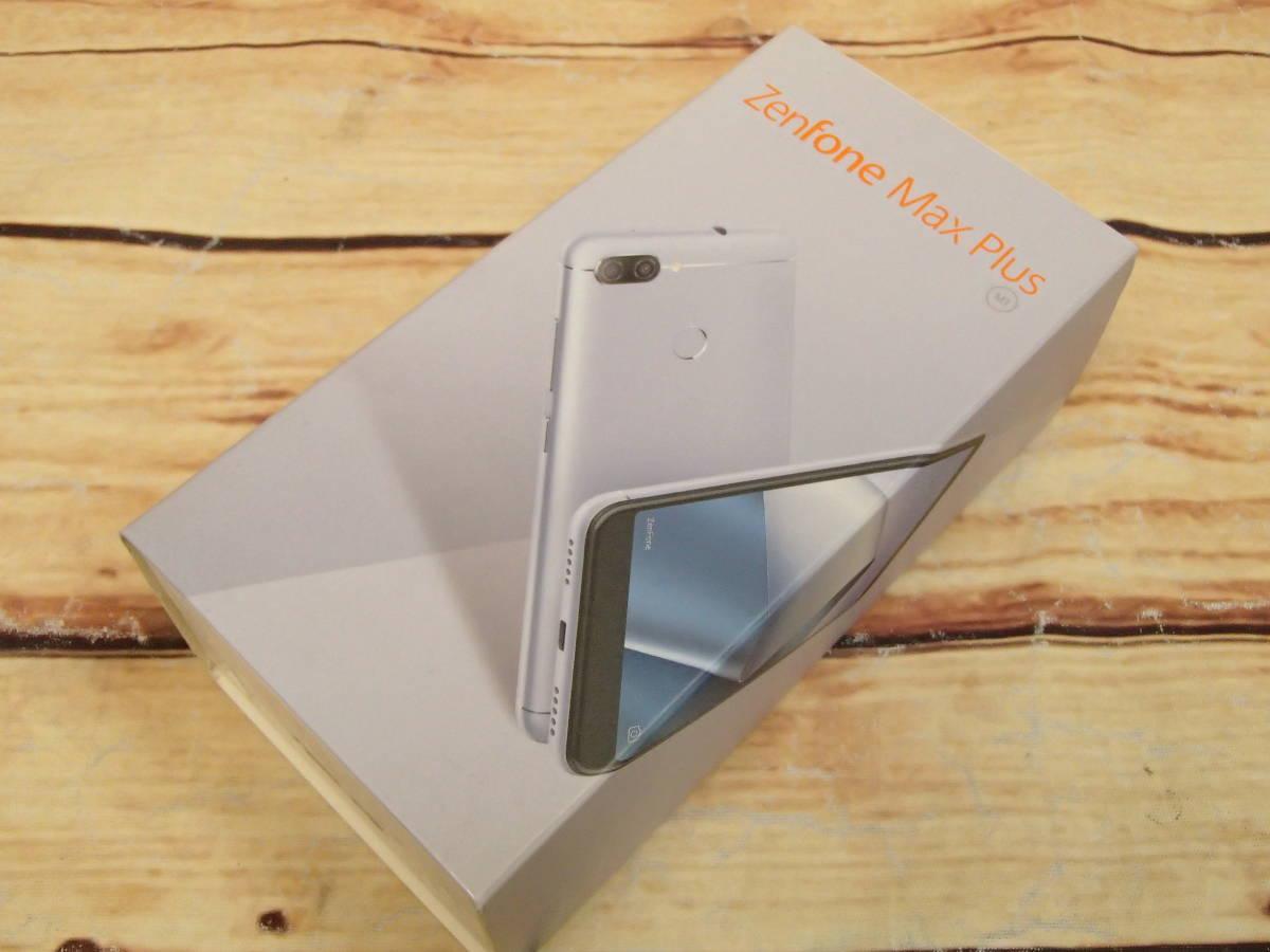 ■ASUS ZenFone Max Plus M1 SIMフリー ZB570TL-SL32S4 5.7型/32GB/ジャンク■_画像9