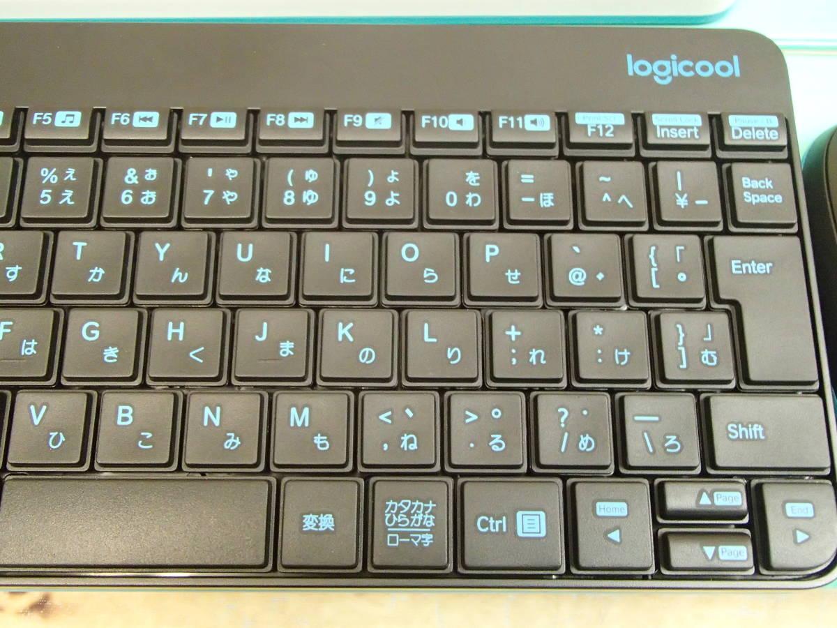 ■Logicool ロジクール ワイヤレスコンボ MK245 NANO ブラック ホワイト 2個セット ワイヤレスキーボード&マウスのセットモデル■_画像7