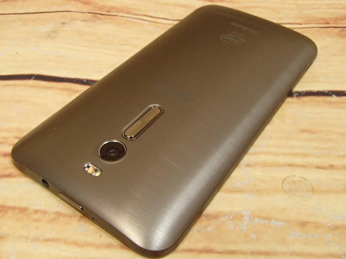 ■ほぼ未使用 ZenFone 2 (ZE551ML) ZE551ML-GY32S4 グレー 5.5型 SIMフリー 32GB ■_画像6