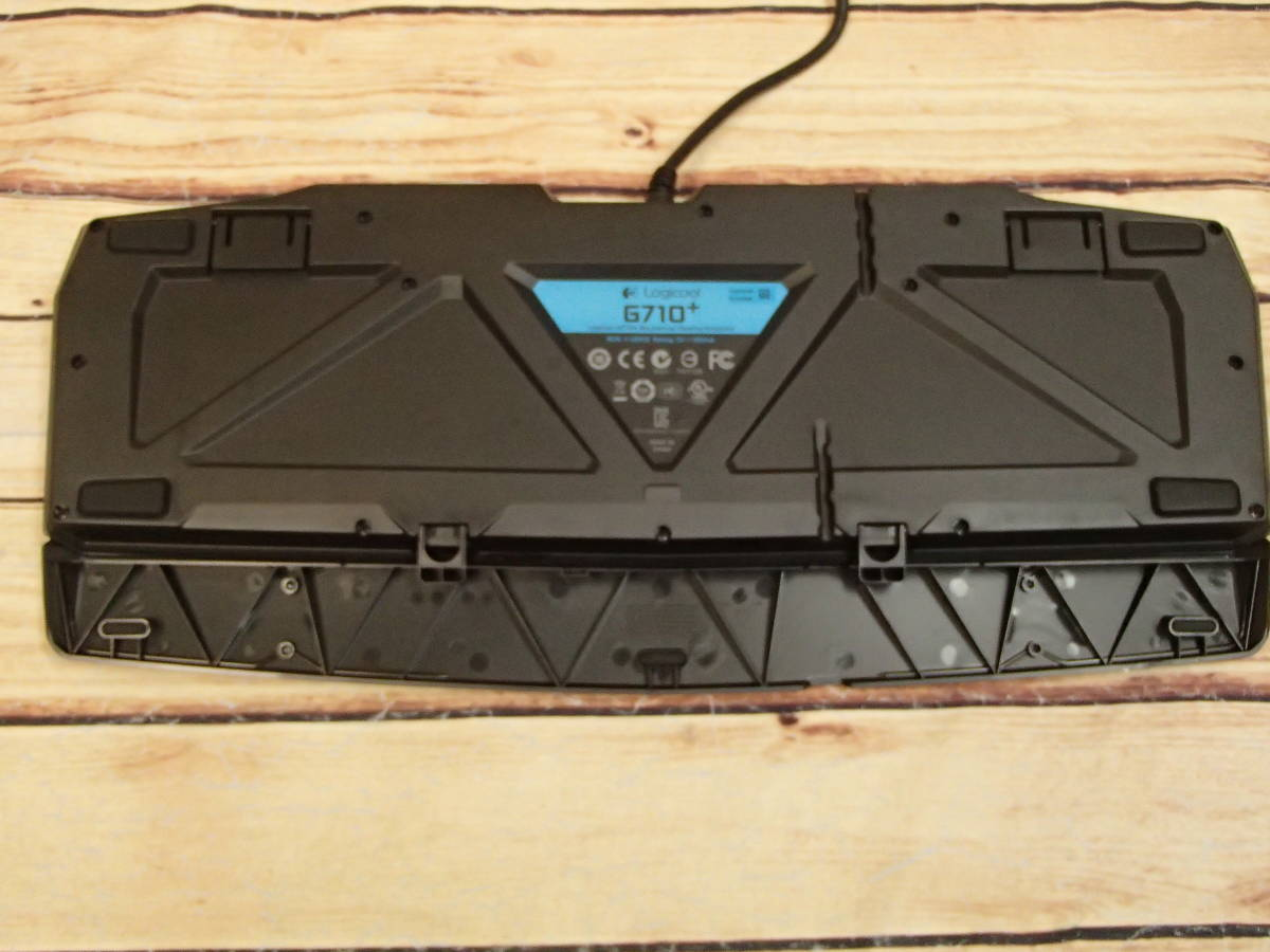■□Logicool ロジクール G710+ Blue メカニカル ゲーミング キーボード G710pBL 青軸 バックライト□■_画像6