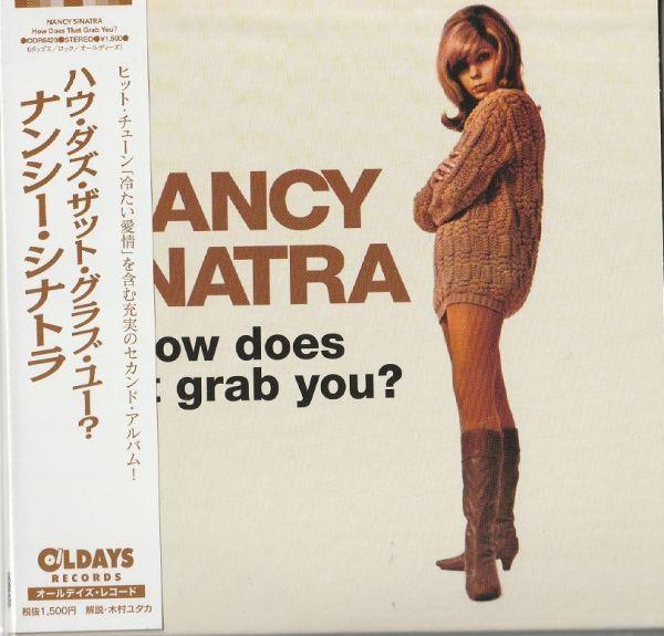 CD ナンシー・シナトラ ハウ・ダズ・ザット・グラブ・ユー +1 紙ジャケ NANCY SINATRA