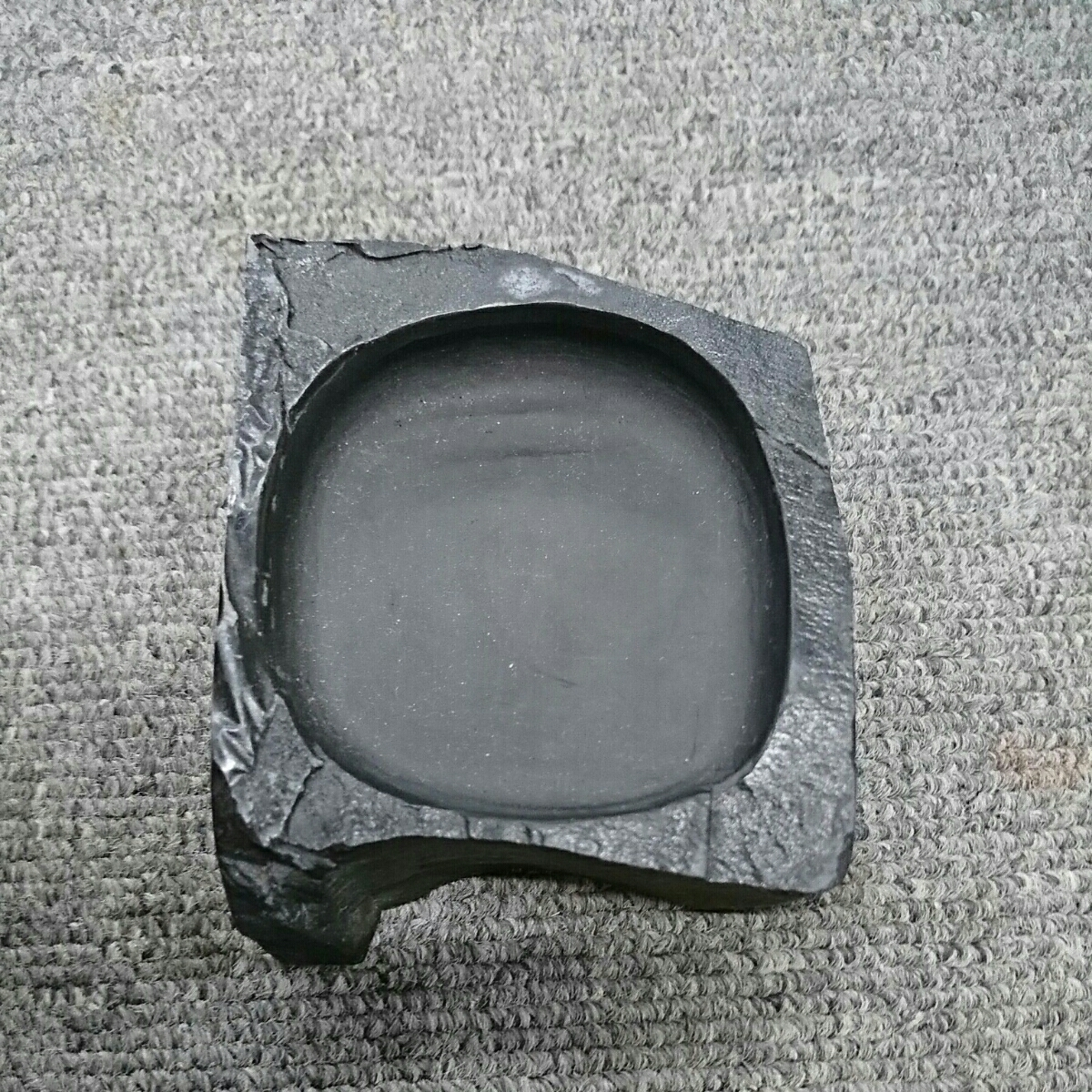 龍渓硯 中古 硯 スズリ 書道具 小型 和風堂崎監製_画像5