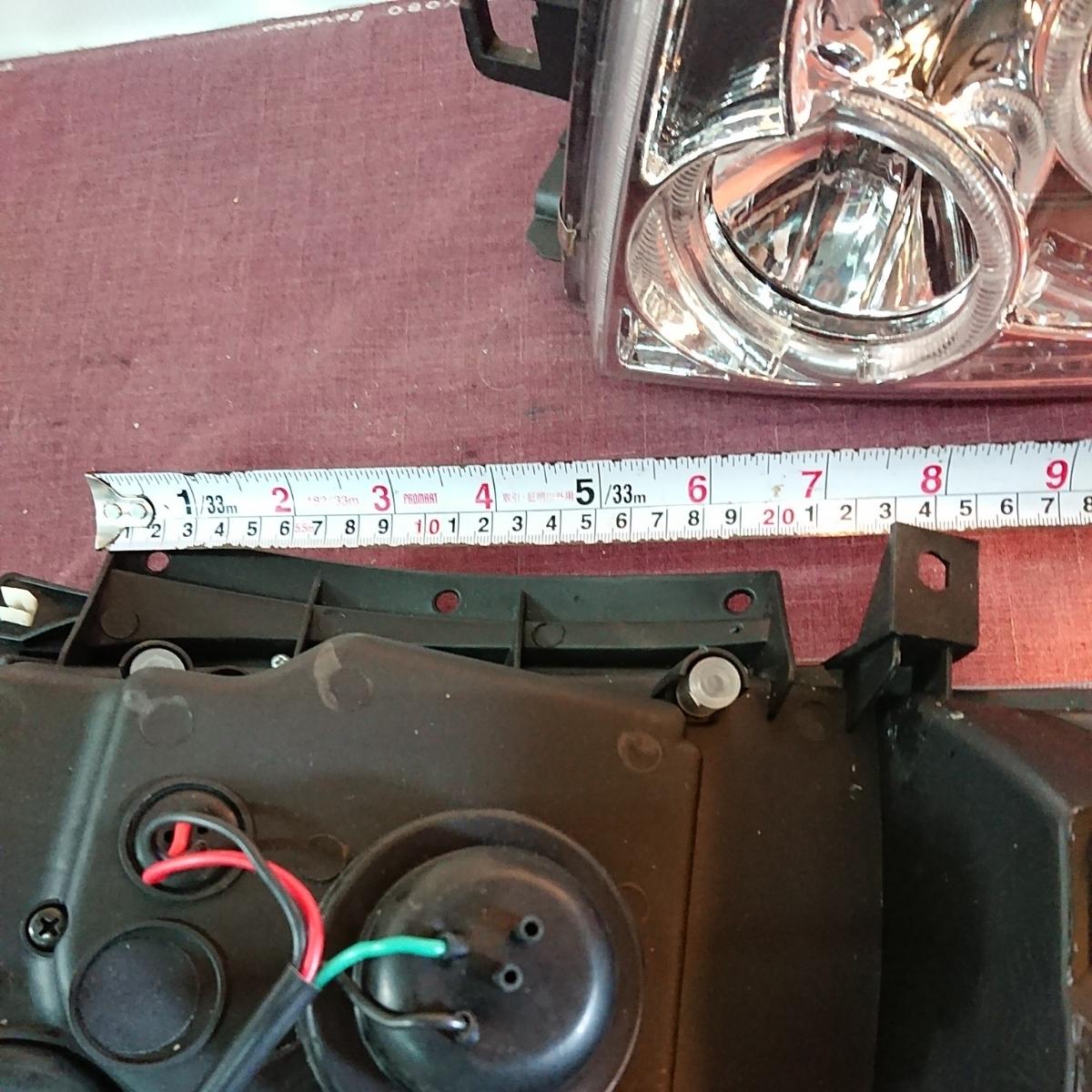 ハイエース ヘッドライト イカリング 200系 2型_画像5
