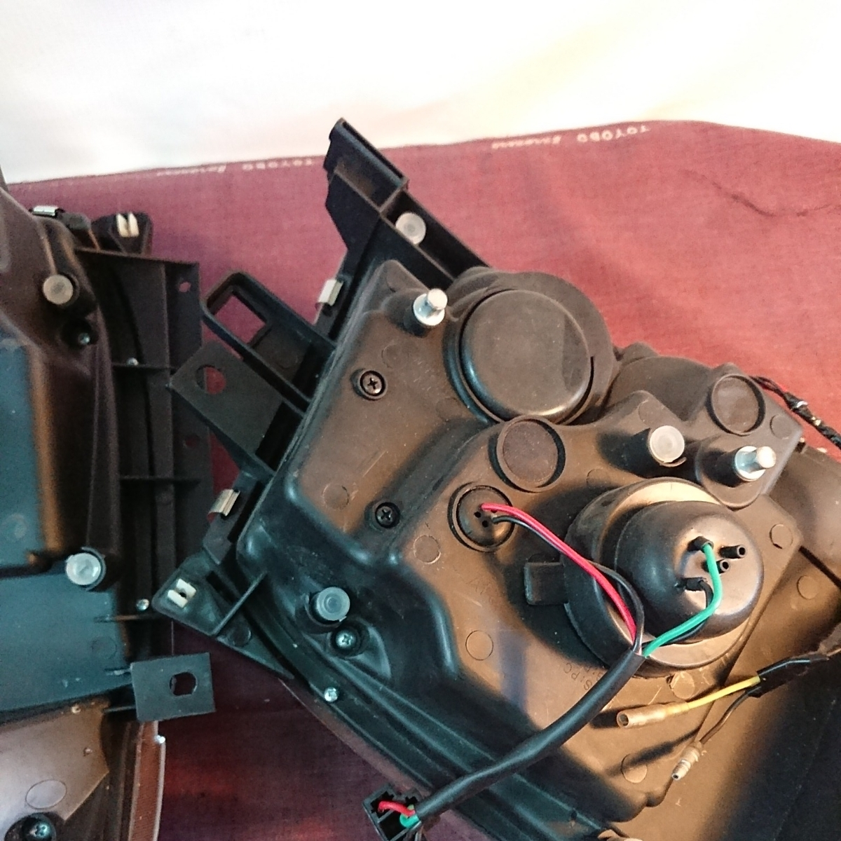 ハイエース ヘッドライト イカリング 200系 2型_画像8