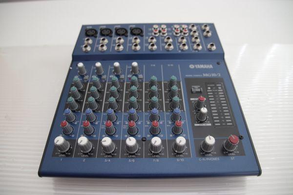 1円 Yamaha ヤマハ 【MG10/2】 Mixing Console Stereo Mixer ミキシングコンソール ステレオミキサー 最落なし_画像2