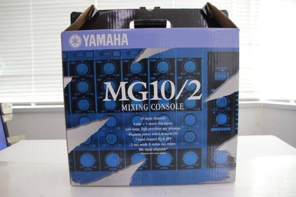 1円 Yamaha ヤマハ 【MG10/2】 Mixing Console Stereo Mixer ミキシングコンソール ステレオミキサー 最落なし_画像10
