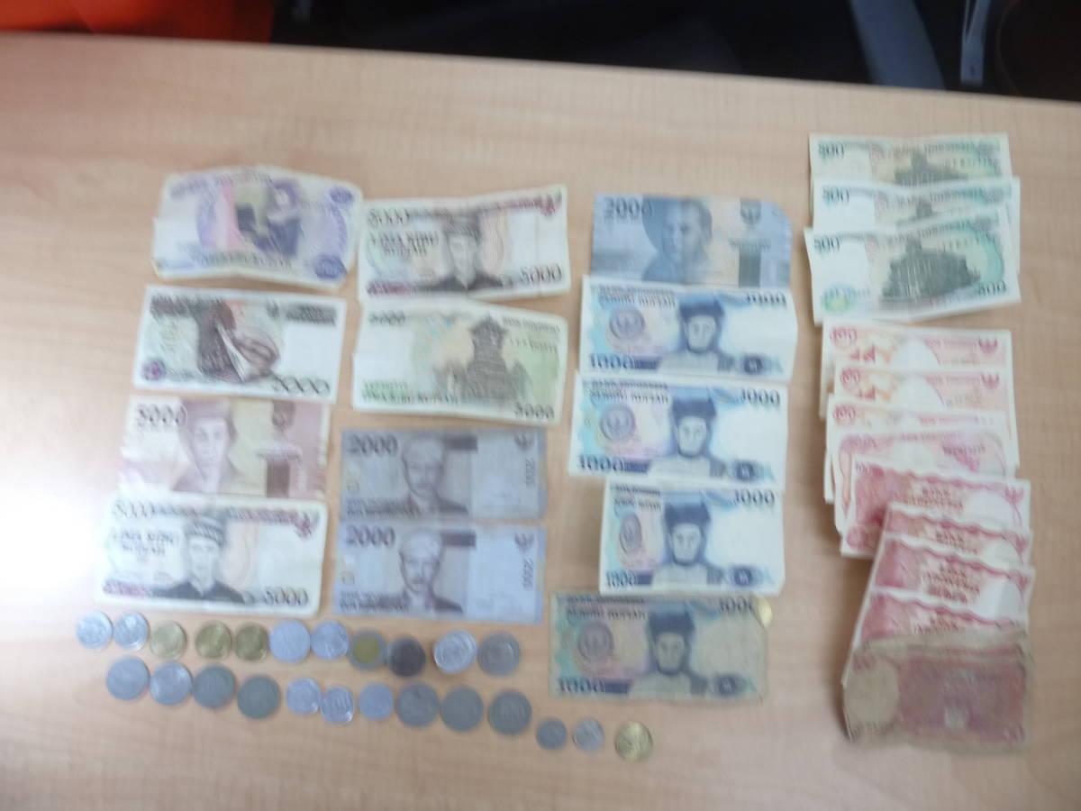 ★A12934★インドネシア 通貨 硬貨 紙幣 INDNESIA 貨幣 まとめ