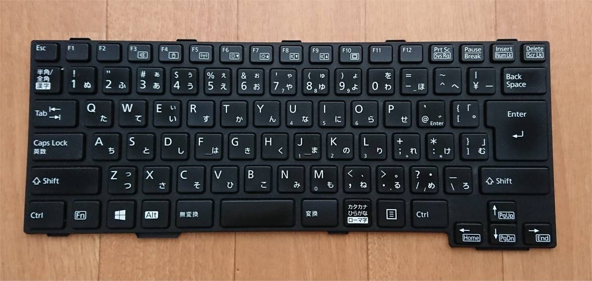富士通 LifeBook MP-11A50J06D85W CP679653-01 MP-11A5 日本語キーボード
