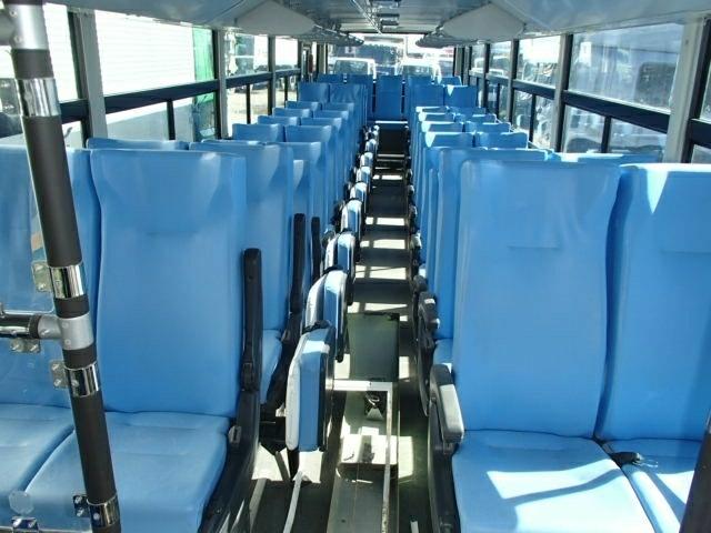 平成26年 三菱 ふそう 冠水車 エアロスター QDG-MP35FP バス_画像6
