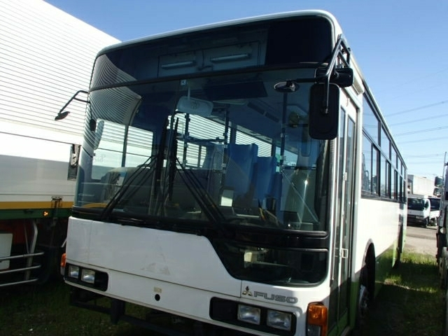平成26年 三菱 ふそう 冠水車 エアロスター QDG-MP35FP バス_画像2