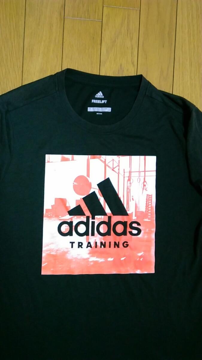 ===⇒最終値下げ![送料無料!]A251【adidas】アディダス Mサイズ Tシャツ climalite Freelift
