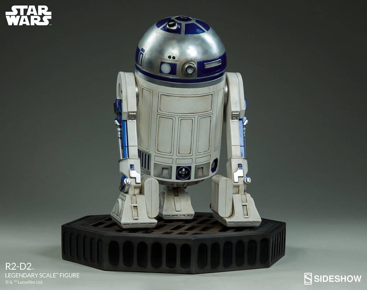【玩具模型】SIDESHOW LEGENDARY SCALE STAR WARS R2-D2 サイドショウスターウォーズR2-D2 人気樹脂模型限定版コレクション1:2スケール R44