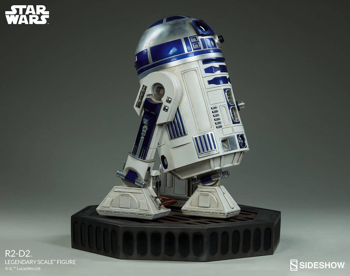 【玩具模型】SIDESHOW LEGENDARY SCALE STAR WARS R2-D2 サイドショウスターウォーズR2-D2 人気樹脂模型限定版コレクション1:2スケール R44_画像4