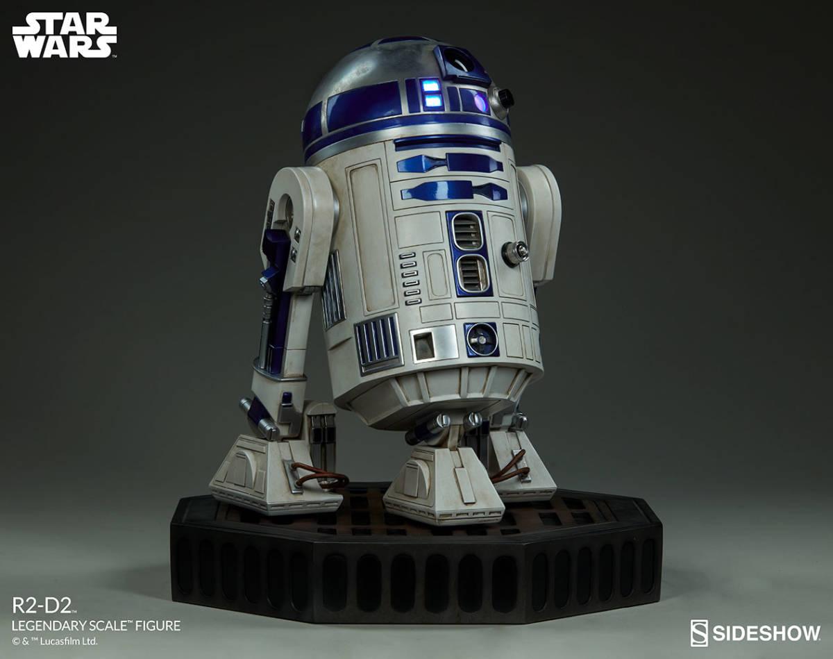 【玩具模型】SIDESHOW LEGENDARY SCALE STAR WARS R2-D2 サイドショウスターウォーズR2-D2 人気樹脂模型限定版コレクション1:2スケール R44_画像5