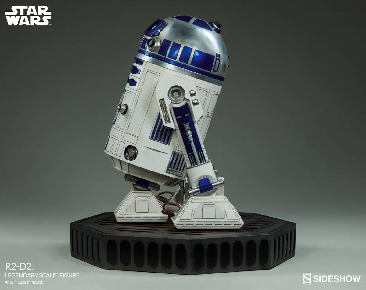 【玩具模型】SIDESHOW LEGENDARY SCALE STAR WARS R2-D2 サイドショウスターウォーズR2-D2 人気樹脂模型限定版コレクション1:2スケール R44_画像2