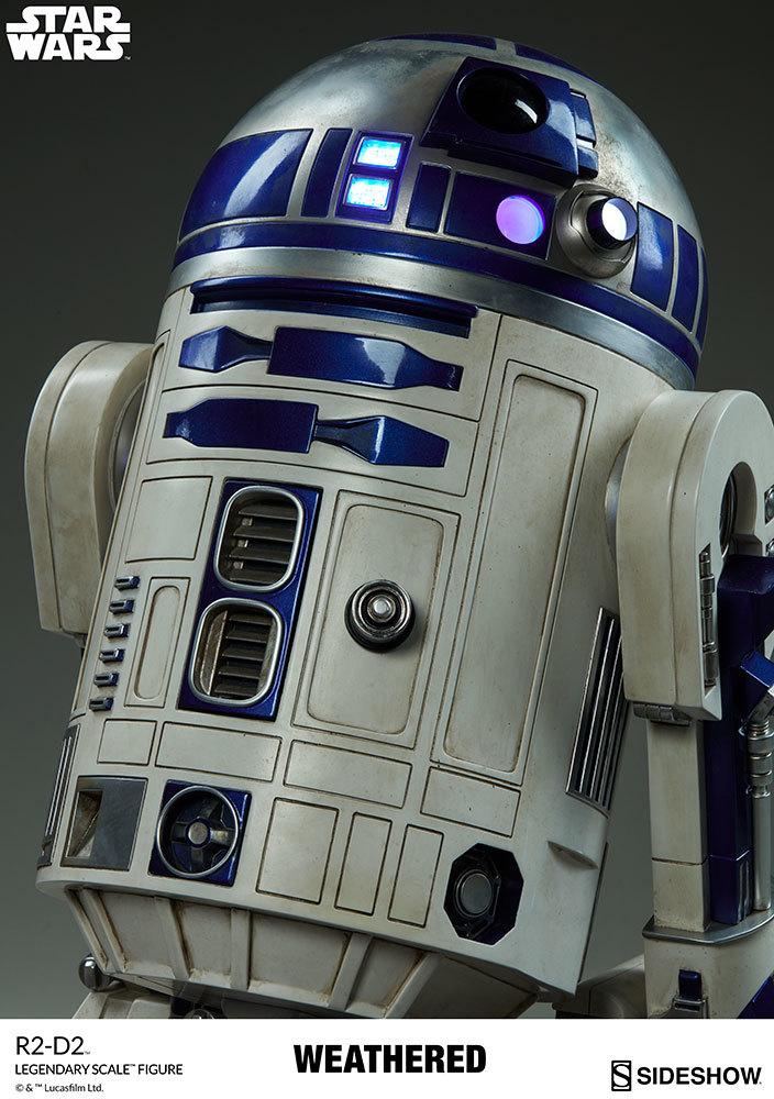 【玩具模型】SIDESHOW LEGENDARY SCALE STAR WARS R2-D2 サイドショウスターウォーズR2-D2 人気樹脂模型限定版コレクション1:2スケール R44_画像10