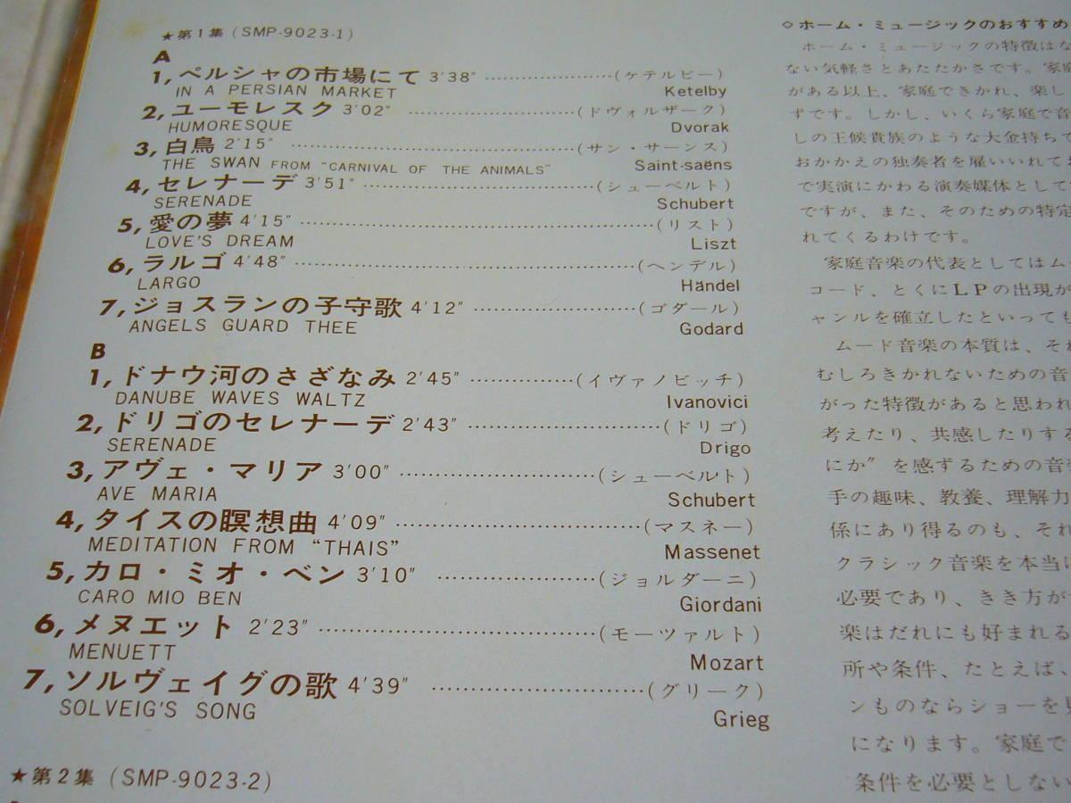LP 2枚組 ハンス・カルステ楽団 ホーム・ミュージックのすべて_画像4