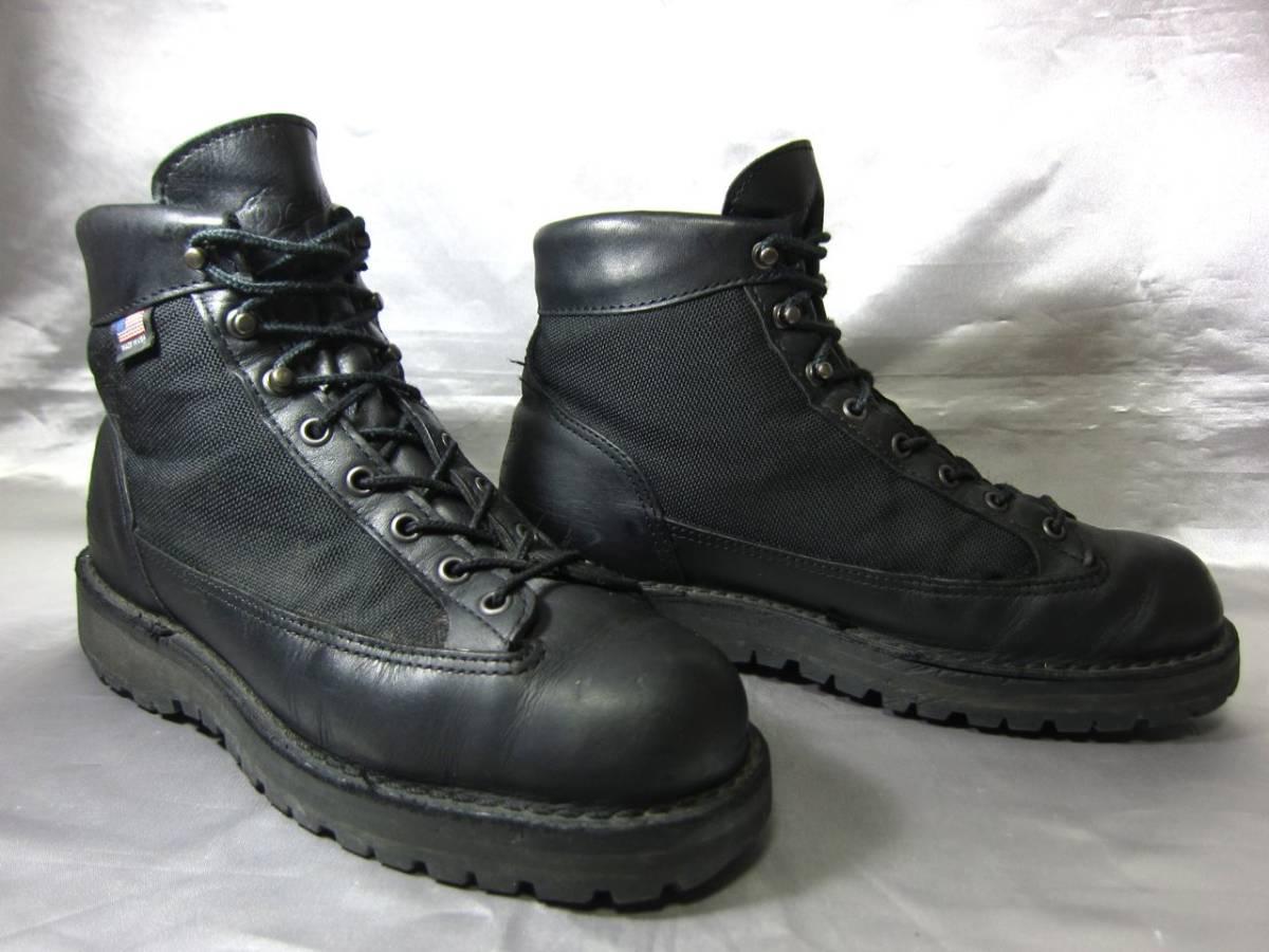 DANNER ダナー DANNER LIGHT ダナーライト マウンテン トレッキング ブーツ 黒 ブラック 26cm 31400X 白タグ USA製 ゴアテックス GORE-TEX