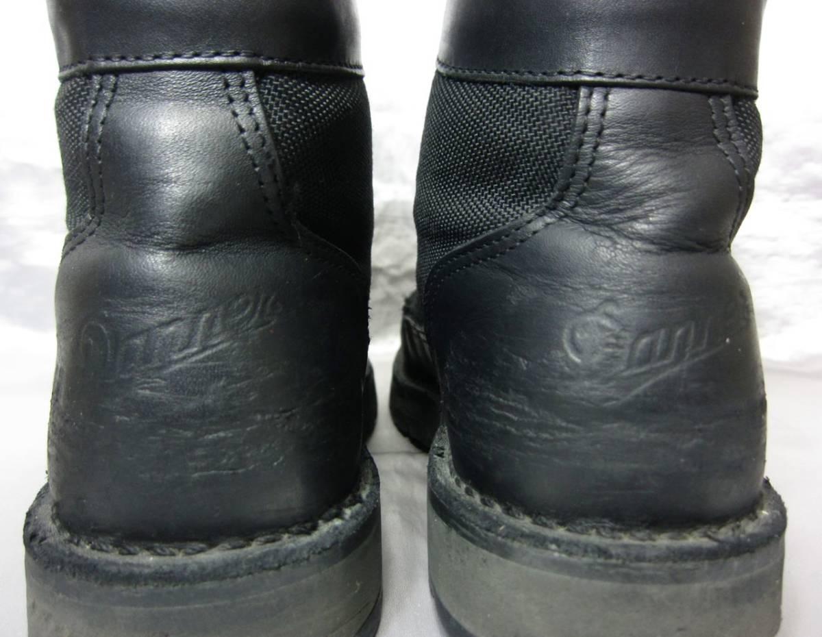 DANNER ダナー DANNER LIGHT ダナーライト マウンテン トレッキング ブーツ 黒 ブラック 26cm 31400X 白タグ USA製 ゴアテックス GORE-TEX_画像5