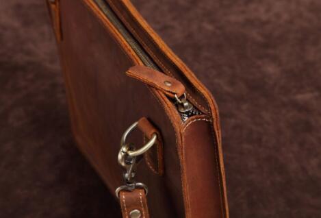 【100%高級牛革高級定価28万円】高品質 メンズバッグ ビジネスバッグ 大容量ショルダーバッグブリーフケース 書類かばん ハンドバッグ_画像8