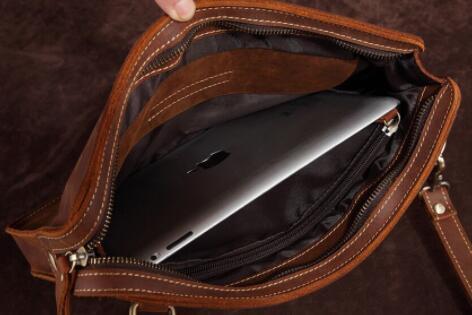 【100%高級牛革高級定価28万円】高品質 メンズバッグ ビジネスバッグ 大容量ショルダーバッグブリーフケース 書類かばん ハンドバッグ_画像10
