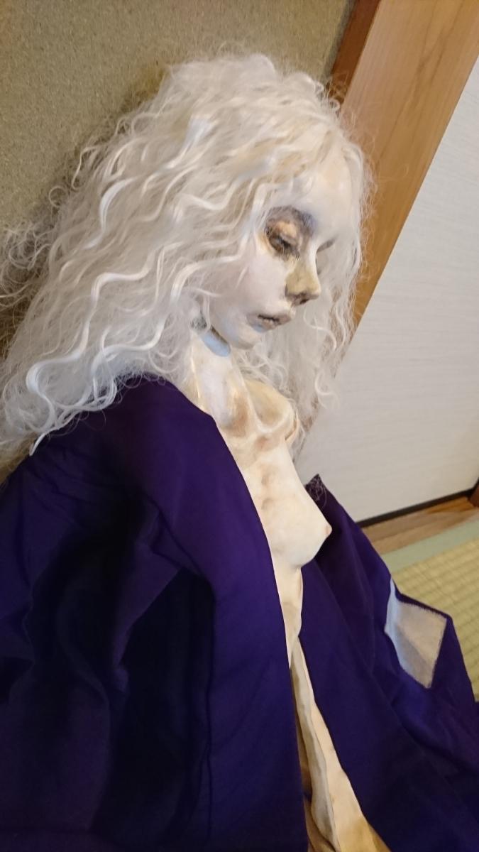 球体関節人形 創作人形 少女 作家名 揺 90cm  粘土