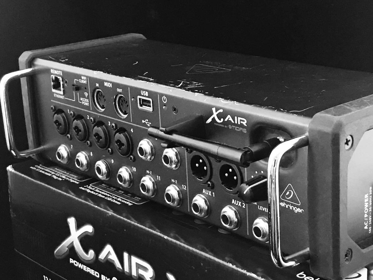 BEHRINGER X AIR XR12 デジタルミキサー とても便利!