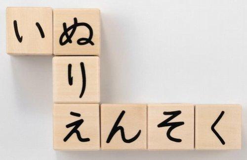 ひらがなさいころつみき 立方体のつみきの5面にひらがなが書かれています 積み木をしながらひらがなやことばの習得にも最適 G283_画像4