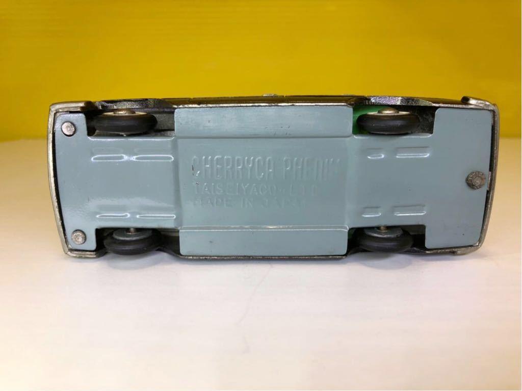 【訳あり品】TAISEIYA 大盛屋 PRINCE GLORIA ミニカー CHERRYCA PHENIX Serier 日本製 中古品 ビンテージ品_画像9