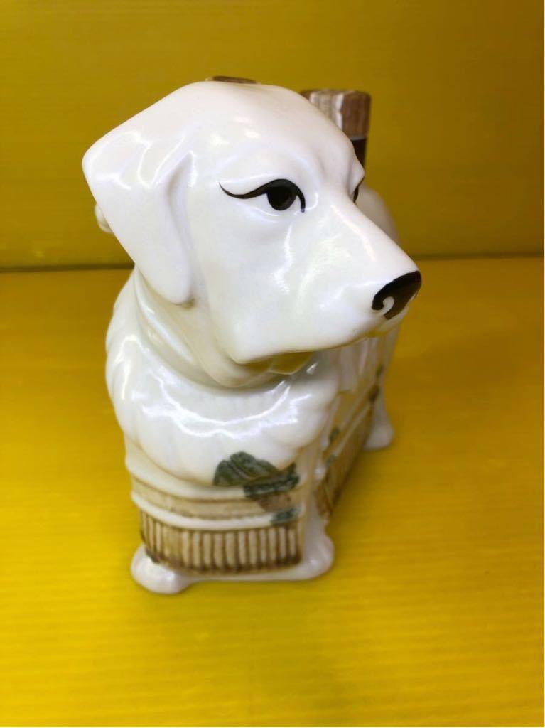 未開栓 SUNTORY WHISKY ROYAL サントリーウイスキーローヤル 干支 陶器ボトル 戌歳 犬歳 イヌ歳 いぬ歳_画像3