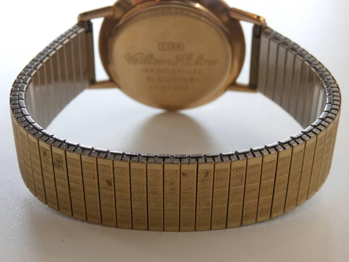 1円~CITIZEN Hi-Line シチズン ハイライン 25石 アンティーク手巻き 14K GOLD FILLED HL51507081 中古 稼動品_画像4